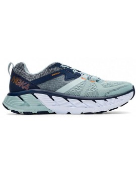 RUNNING SHOES HOKA ONE ONE GAVIOTA 2 BLUE AND GRE FOR WOMEN'S