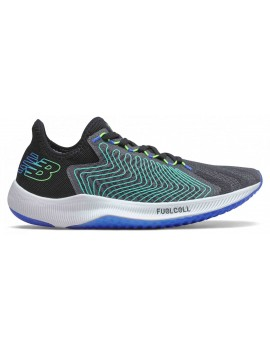 RUNNING SHOES NEW BALANCE FUELCELL REBEL BLACK AND BLUE FOR MEN'S