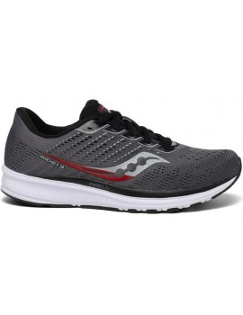 RUNNING SHOES SAUCONY RIDE 13 GREY FOR MEN'S
