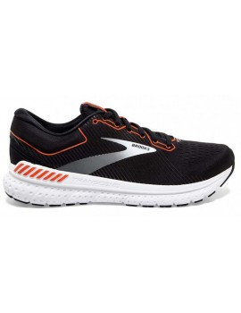 RUNNING SHOES BROOKS TRANSCEND 7 BLACK AND ORANGE FOR MEN'S