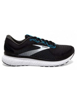 RUNNING SHOES BROOKS GLYCERIN 18 BLACK AND BLUE FOR MEN'S