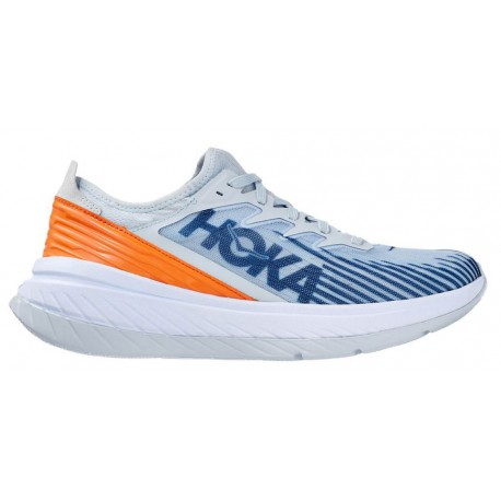 RUNNING SHOES HOKA ONE ONECARBON X-SPE BLUE AND ORANGE FOR MEN'S