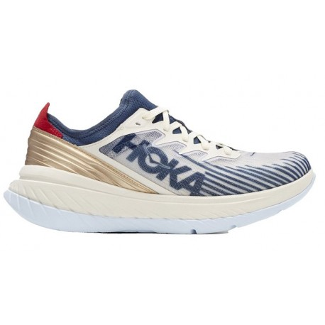 RUNNING SHOES HOKA ONE ONE CARBON X-SPE BLUE AND GOLD FOR MEN'S