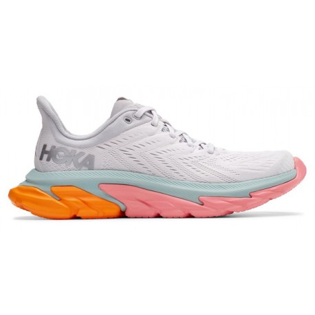 RUNNING SHOES HOKA ONE ONE CLIFTON EDGE GREY AND ORANGE FOR MEN'S