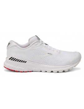 RUNNING SHOES BROOKS ADRENALINE GTS 20 WHITE FOR MEN'S
