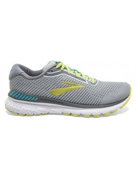 RUNNING SHOES BROOKS ADRENALINE GTS 20 GREY FOR WOMEN'S