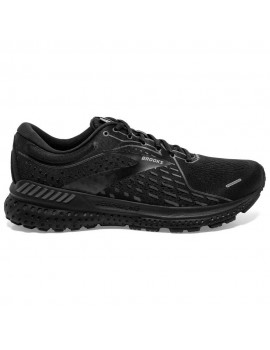 RUNNING SHOES BROOKS ADRENALINE GTS 21 BLACK FOR MEN'S