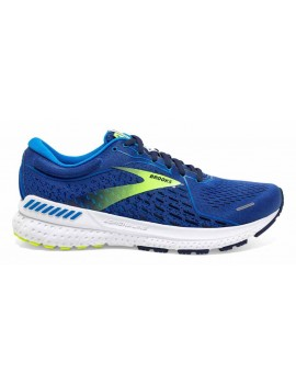 RUNNING SHOES BROOKS ADRENALINE GTS 21 BLUE FOR MEN'S