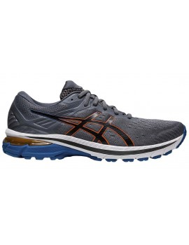 RUNNING SHOES ASICS GT 2000 V9 GREY FOR MEN'S
