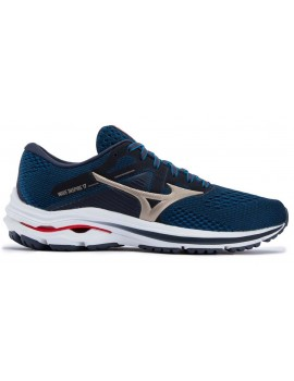 RUNNING SHOES MIZUNO WAVE INSPIRE 17 BLUE FOR MEN'S