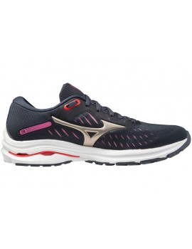 RUNNING SHOES MIZUNO WAVE RIDER 24 BLACK FOR WOMEN'S