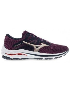 RUNNING SHOES MIZUNO WAVE INSPIRE 17 PURPLE FOR WOMEN'S