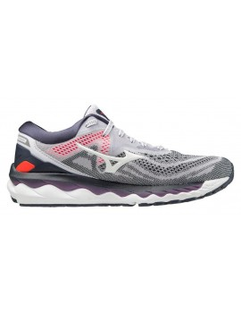 RUNNING SHOES MIZUNO WAVE SKY 4 GREY FOR WOMEN'S