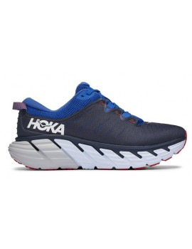 RUNNING SHOES HOKA ONE ONE GAVIOTA 3 GREY AND BLUE FOR MEN'S