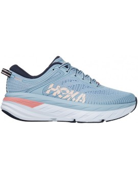 RUNNING SHOES HOKA ONE ONE BONDI 7 BLUE FOR WOMEN'S