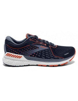 RUNNING SHOES BROOKS ADRENALINE GTS 21 NAVY BLUE FOR MEN'S