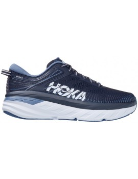 RUNNING SHOES HOKA ONE ONE BONDI 7 NAVY BLUE FOR MEN'S