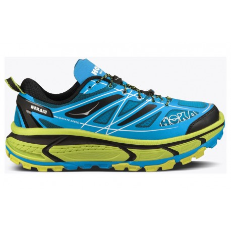 TRAIL RUNNING SHOES HOKA ONE ONE MAFATE SPEED 2 BLUE FOR MEN'S