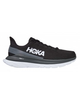 RUNNING SHOES HOKA ONE ONE MACH 4 BLACK FOR MEN'S