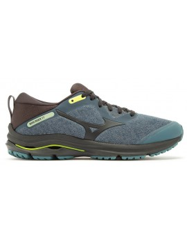 RUNNING SHOES MIZUNO WAVE RIDER TT BLUE AND GREEN FOR MEN'S