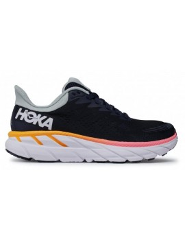 RUNNING SHOES HOKA ONE ONE CLIFTON 7 BLACK FOR WOMEN'S