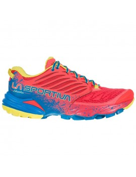 TRAIL RUNNING SHOES LA SPORTIVA AKASHA HIBISCUS AND NEPTUNE FOR WOMEN'S
