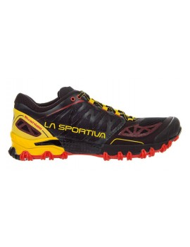 TRAIL RUNNING SHOES LA SPORTIVA BUSHIDO BLACK AND YELLOW FOR MEN'S