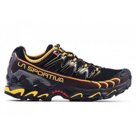 TRAIL RUNNING SHOES LA SPORTIVA ULTRA RAPTOR BLACK AND YELLOW FOR MEN'S