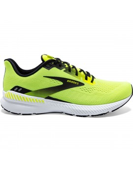 RUNNING SHOES BROOKS LAUNCH GTS 8 YELLOW FOR MEN'S