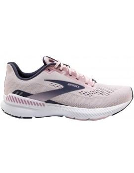 RUNNING SHOES BROOKS LAUNCH GTS 8 PINK AND BLACK FOR WOMEN'S