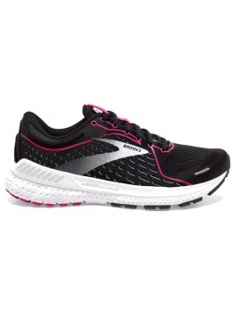 RUNNING SHOES BROOKS ADRENALINE GTS 21 BLACK AND PINK FOR WOMEN'S