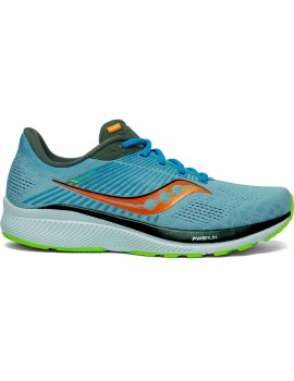 RUNNING SHOES SAUCONY GUIDE 14 BLUE FOR MEN'S