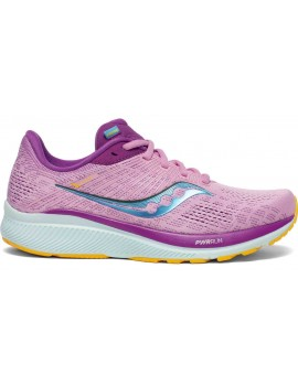 RUNNING SHOES SAUCONY GUIDE 14 PINK FOR WOMEN'S