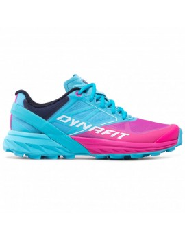 TRAIL RUNNING SHOES DYNAFIT ALPINE BLUE AND PINK FOR WOMEN'S