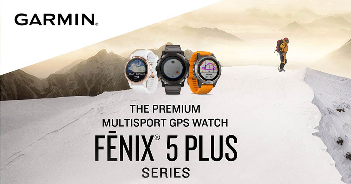 Montre GPS Garmin Fénix 5 PLUS