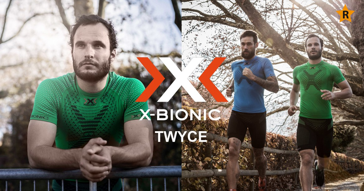 Running apparel X-Bionic Twyce for women's and for men's.