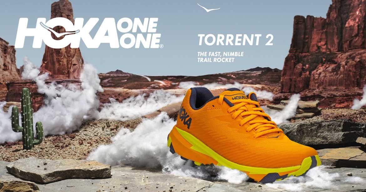 Trail Running shoes Hoka one one.