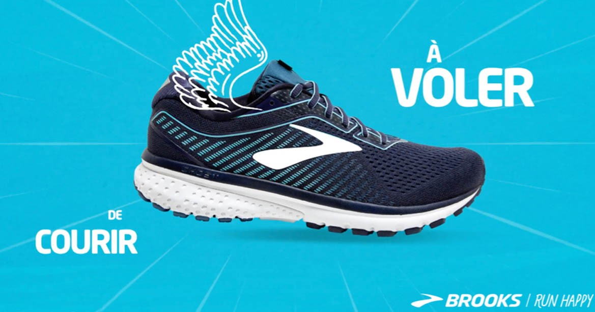 Running and trail running shoes Brooks.